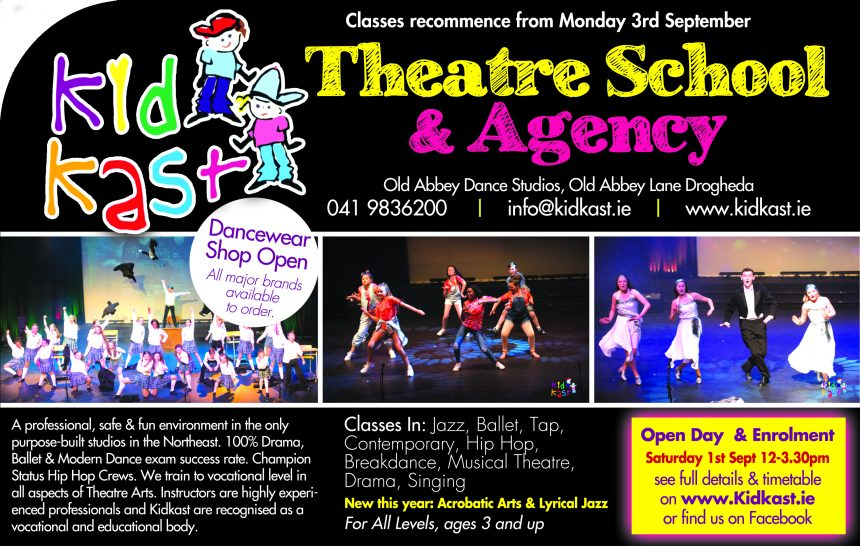 Open Day September 1st and classes resume from Monday 3rd September